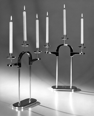 Pair of 3-light Candelabra