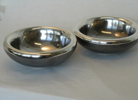 Silver and Copper Bowls ::