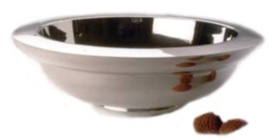 Award winning Double Skin Pewter Bowl