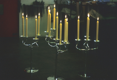 Candelabrum for London School of Economist