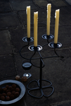 Iron candleabra