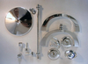 Disassembled (kit) for 4-light candelabra ::
